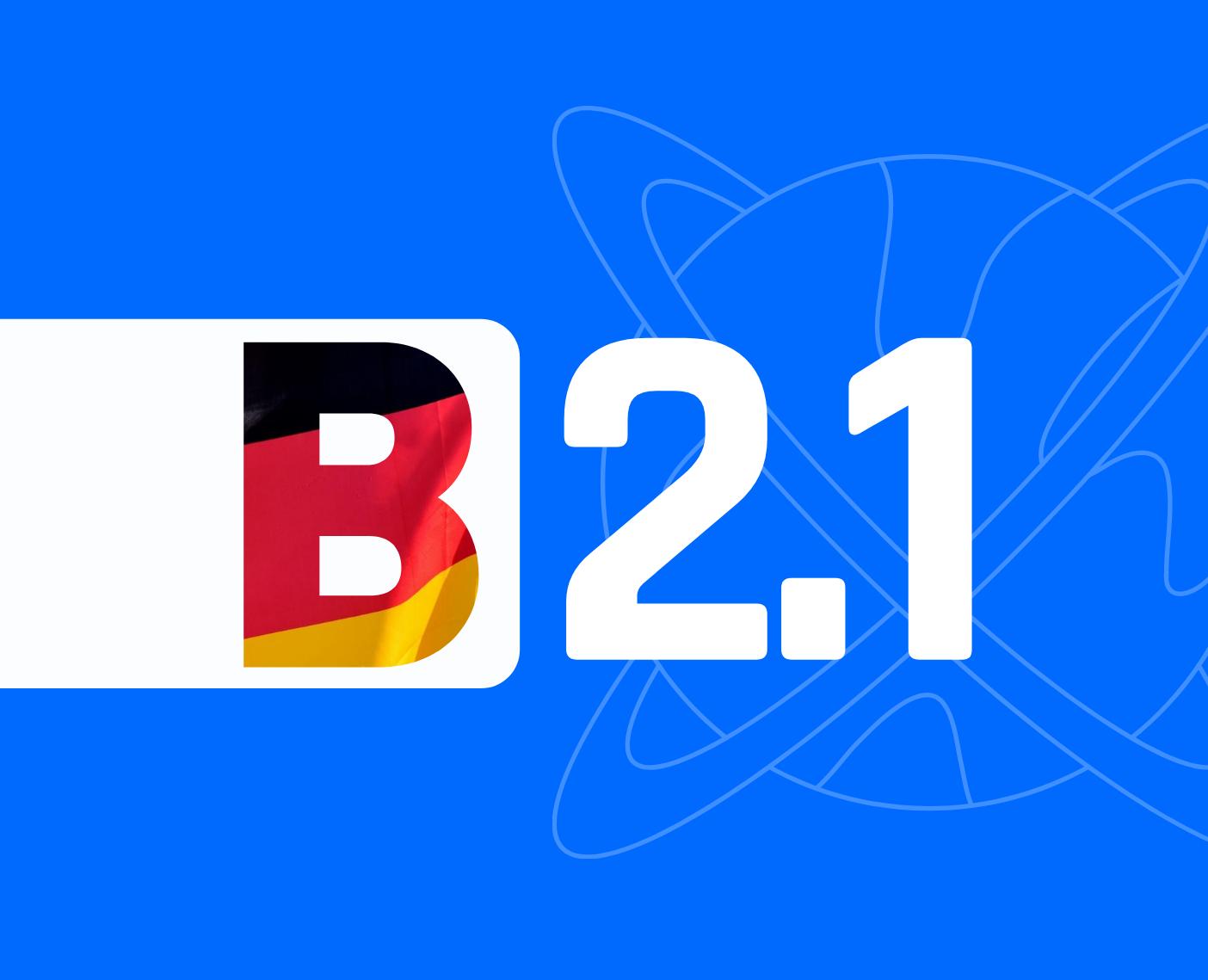 Јазичен  степен B2.1  –  За возрасни