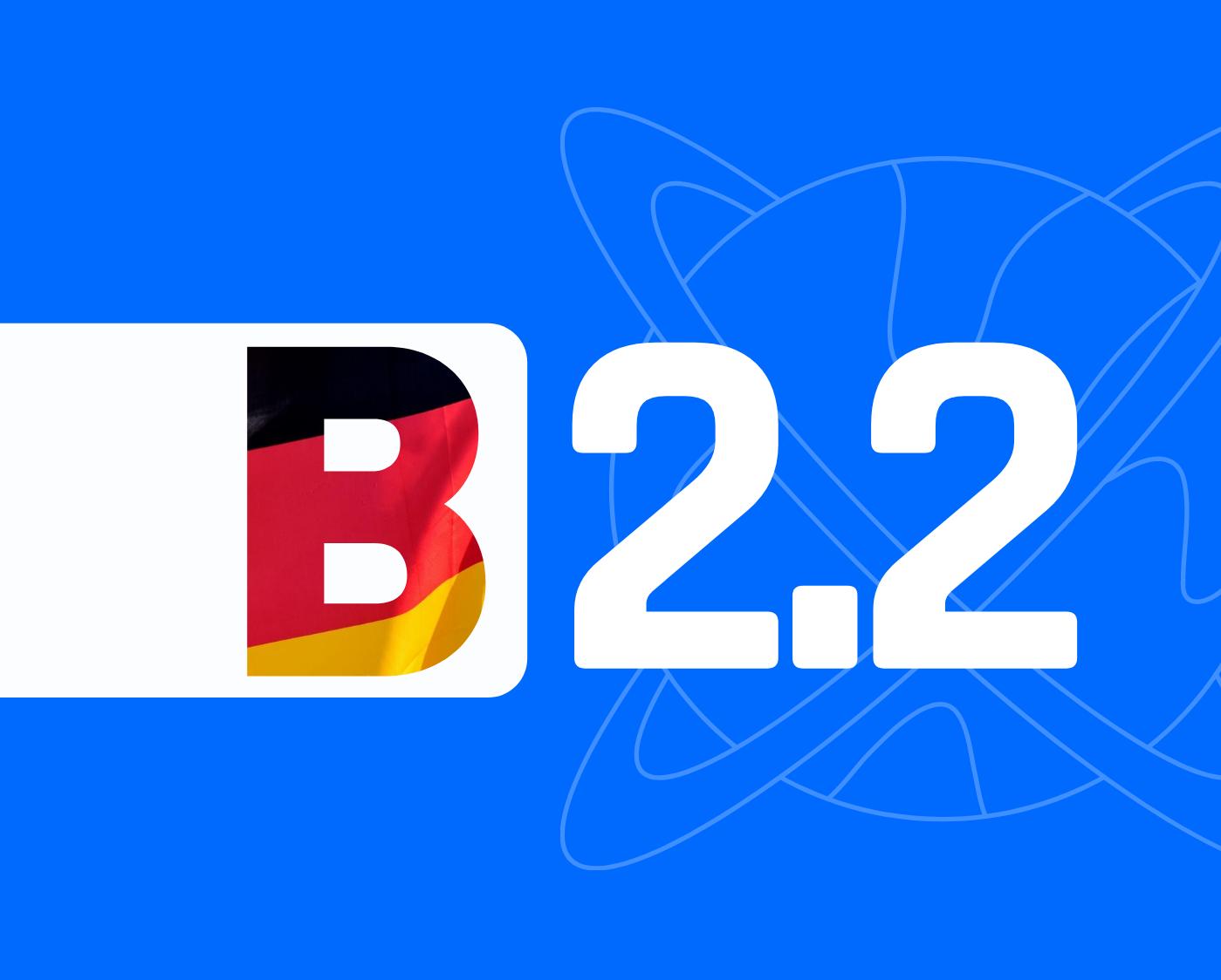 Јазичен  степен B2.2  –  За возрасни